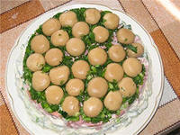 Грибні салати