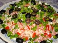 Салати м'ясні